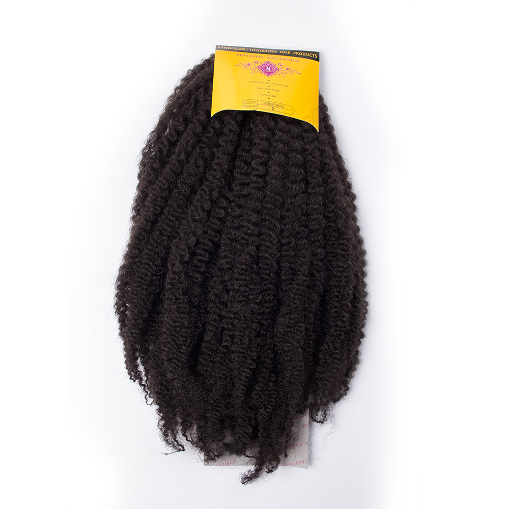 Afro Twist Braid  Synthetic Marley Braiding Hair Extensions Burgundy High Temperature Fiber MarleyHair