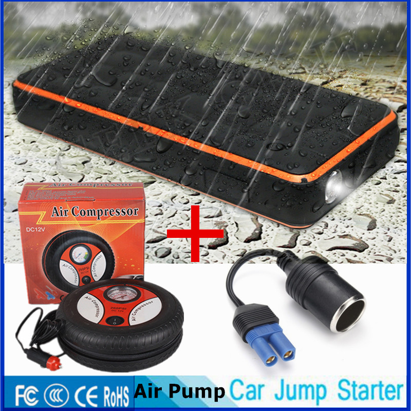 2018 Waterproof 1000A Car Jump Starter 28000mAh Starting Device Lighter Power Bank Car Charger For Car