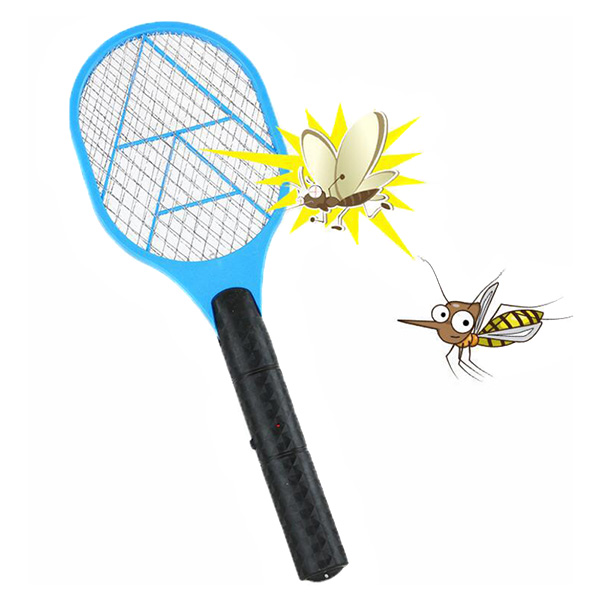 Hand Racket Electric Swatter Home Garden Insect Bug Bat Wasp Zapper Fly Mosquito Pest Control DTT88