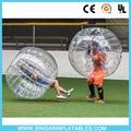 Бесплатная доставка 0.8 мм ПВХ 1.2 м диаметр выбить мяч, спортивные пузыри, пузырь socccer, хитрый мяч дети