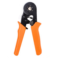 New Electrical Terminal Crimp Tool Bootlace Ferrule Crimper Wire End Cord Carbon Steel Durable Crimping Pliers