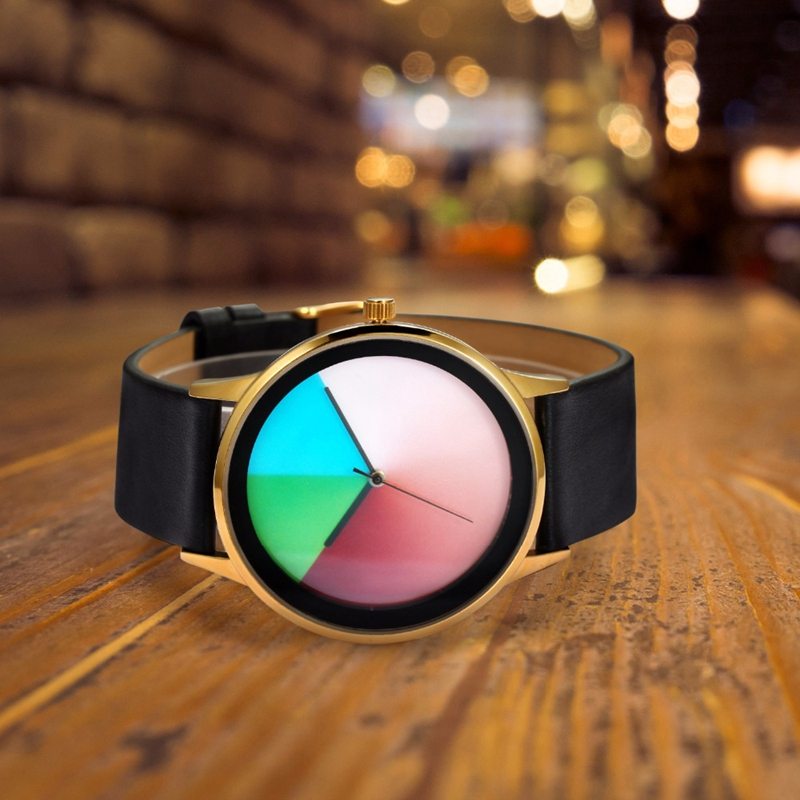 2017 New Fashion Watches for Men Women Genuine Leather Brand Watch Colorful Lovers Quartz Wristwatches Time Best Gift To Friends 2017 new brand quartz analog watch lovers watches women men watches silicone dress wristwatches fashion casual watches unisex