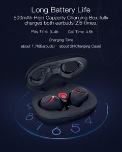 Image 4 - BlitzWolf אוזניות אח AIRAUX מיני אמיתי אלחוטי bluetooth אוזניות Hi Fi סטריאו עמיד למים אוזניות טעינת מקרה במלאי