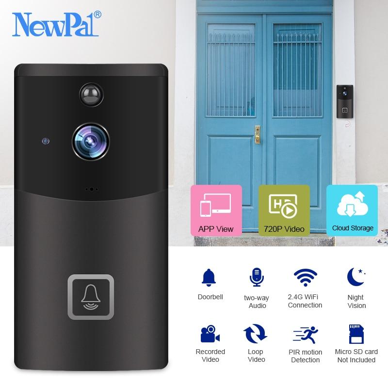 Wireless Doorbell Video IP Camera Security Monitor Doorbell WiFi Visual Call Intercom Home Door Phone Ring