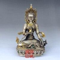 Посеребренное золото, религиозные украшения Будды Думу в Непале