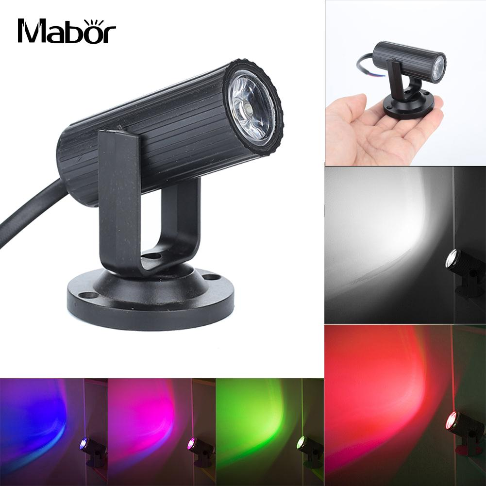 Stage Lamp Beam Lights Mini Moving Head Wedding Supplies Disco Party KTV Laser Projector LED 1W Light  Lighting