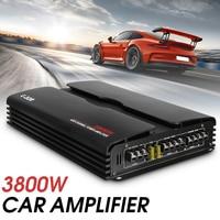 Car Amplifier Subwoofer car audio 3800W RMS 4Channel 12V Powerful 4ohm Truck Car Amplifier Audio Power Stereo Speaker amplifiers