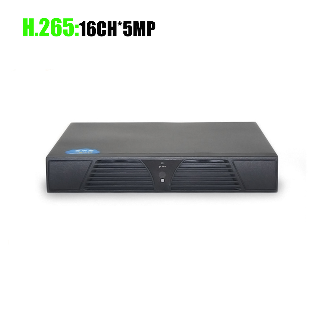 YiiSPO 16CH 5MP NVR H 265 Security Network Video Recorder 4K HDMI NVR Support H 264