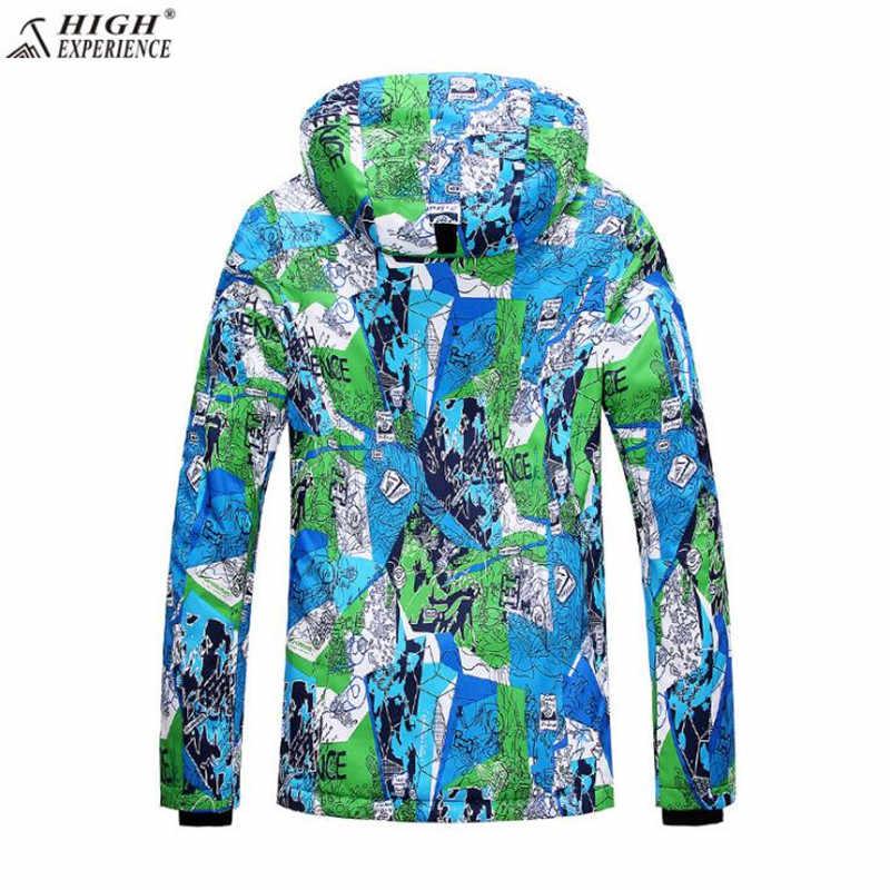 送料無料ブランド男性冬のスキージャケット男性雪の屋外ジャケット高経験暖かい冬スポーツコート防風
