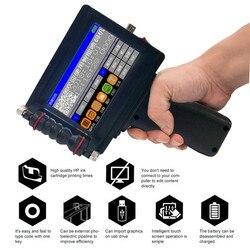 Ручной струйный принтер портативный мини-принтер для печати этикеток сенсорный экран 600 dpi Интеллектуальный USB qr-код принтер для этикеток ст...