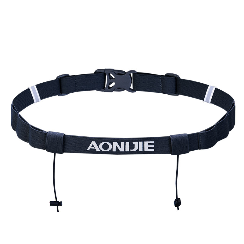 AONIJIE 4 Color Unisex E4076 E4085 Running Race Number Belt Waist Pack Bib Holder
