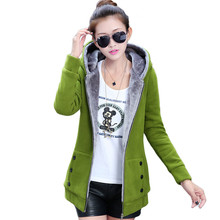 Spring Autumn Jackets Women Casual Hoodies Coat Cotton Sport