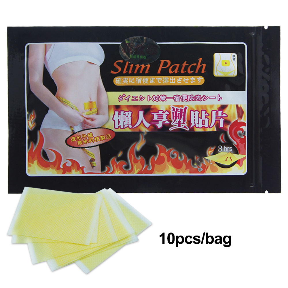 20pcs/2bag Slimming Navel Stick Slim Patch Lose Weight Loss Burning Fat Slimming Cream Health Care fat slimming creams stickers