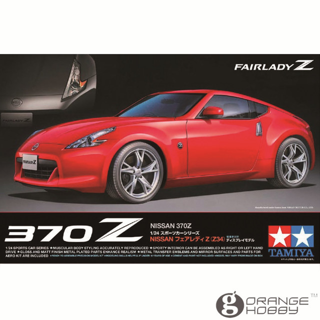US $51 0  OHS Tamiya 24315 1/24 370Z Scale Assembly Car Model Building Kits  G-in Model Building Kits from Toys & Hobbies on Aliexpress com   Alibaba