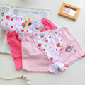 Kids Girls Cotton Underwear Children Girls Boxer Panties Children's Fashion Briefs 6 Pcs/lot Hot Sale