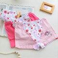 Muchachas de los cabritos del algodón underwear escritos de la manera muchachas de los niños del boxeador de los niños 6 unids/lote venta caliente