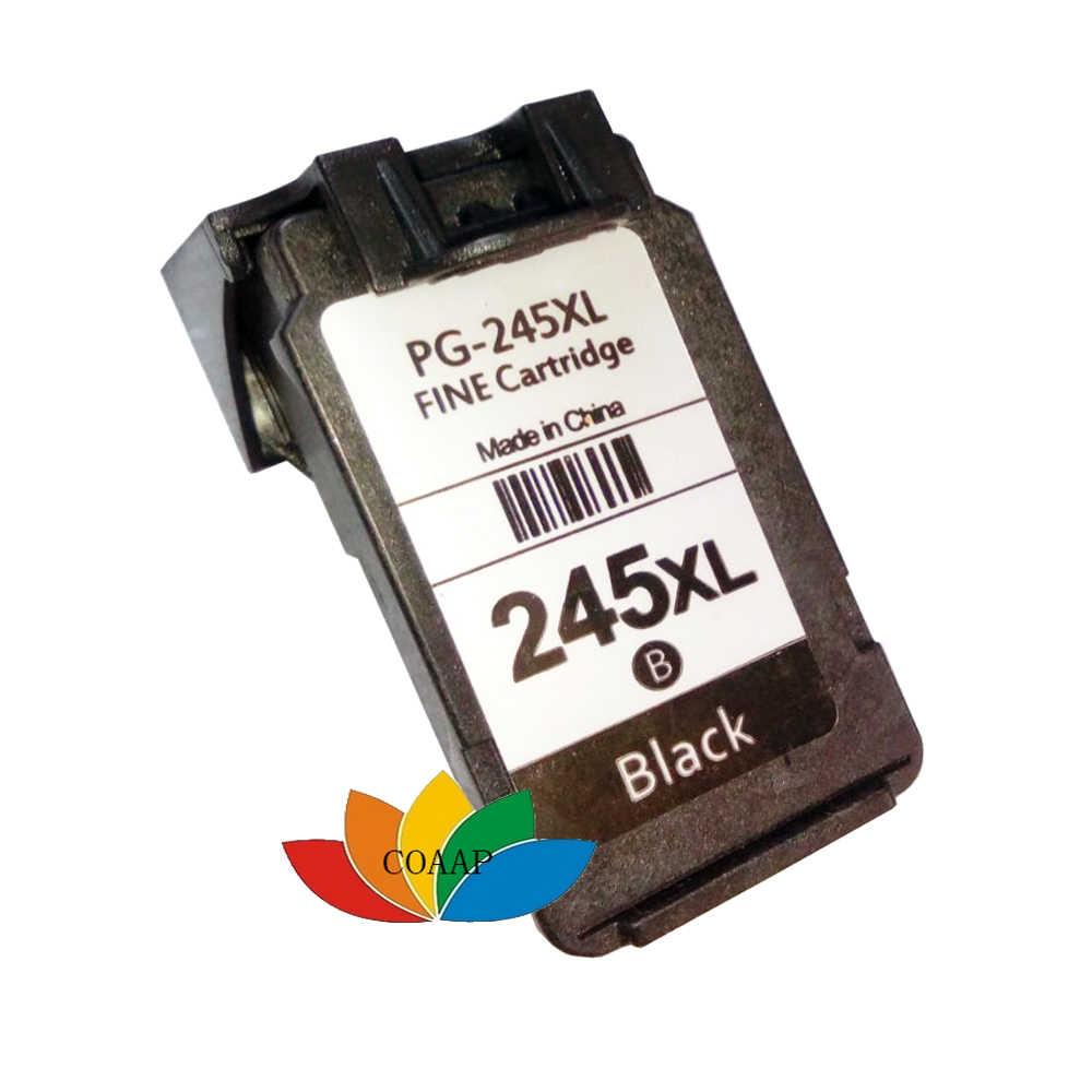 1x Recarregados Cartuchos de Tinta para canon PG 245 PG-245XL Traseira MG2420 MG2520 IP2820 MG2550 MG2924 Impressora