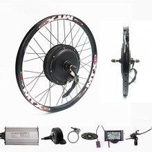 70 км/ч 72 в 2000 Вт задний колесный велосипед с электродвигателем комплект электрическое преобразование велосипедов