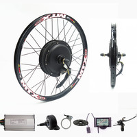 70km/h 72v 2000W Rear wheel Motor Electric Bike Kit Electric Bicycle Conversion Kit