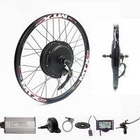 70km/h 72v 2000W Rear wheel Motor Electric Bike Kit Electric Bicycle Conversion Kit