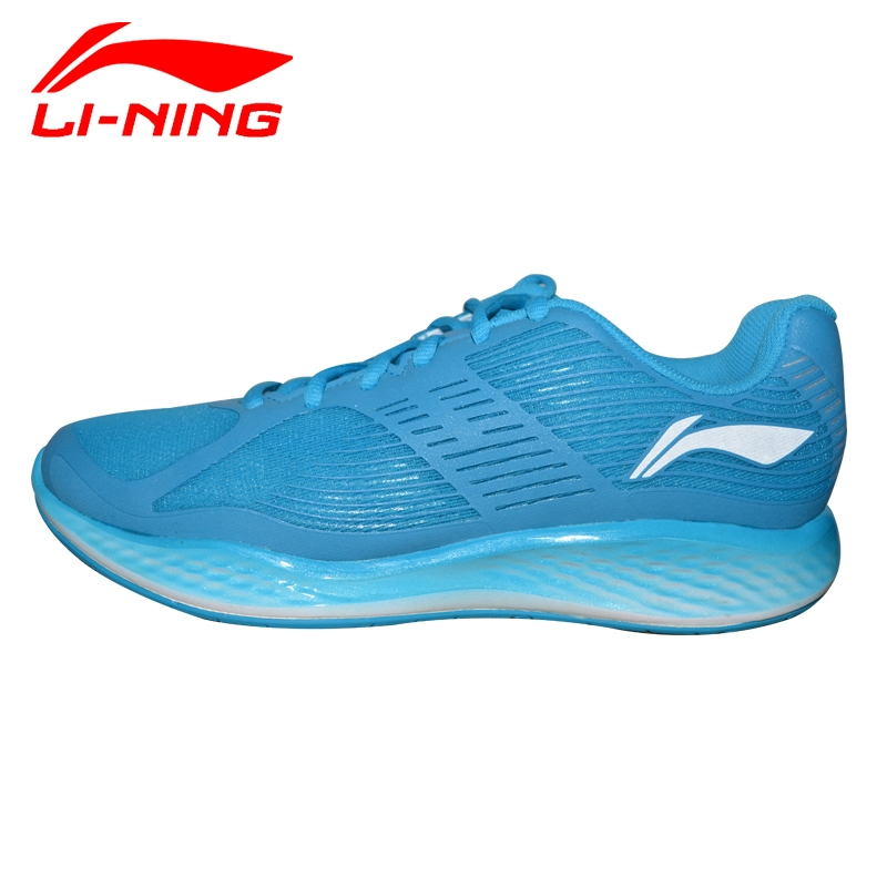 Li-Ning Men's Spring Shock-Absorbant Running Shoes Li Ning Outdoor Breathable PU+Fabric Lightweight Sports Sneakers ARHJ021 папка для тетрадей disney princess на молнии а4