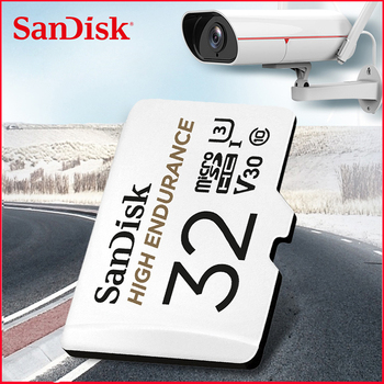 SanDisk HIGH ENDURANCE Micro SD 128GB 32GB 64GB 256GB U3 V30 4K Micro SD Memory Card SD/TF Flash MicroSD Card for Monitor Video