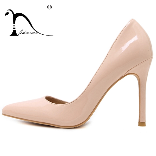 FEDIROMA Woman Pumps Summer High heels Pointed Toe Female Wedding Shoes  Sexy High Heel shoes for women 5 colors 4f08e0821158