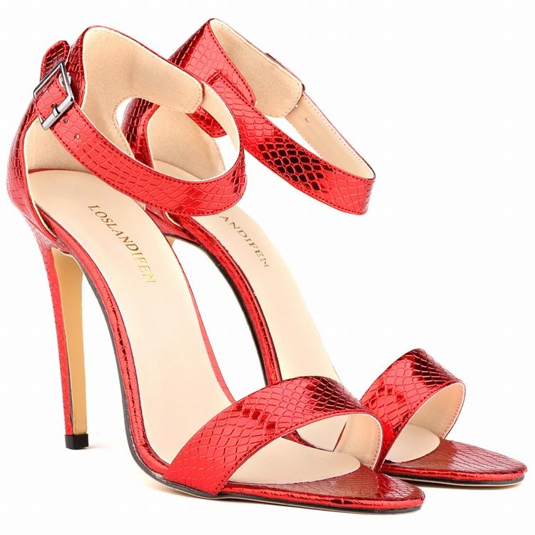 Cut-outs Gladiator Sandal Women 2015 Summer Style High Heel Womens Sexy Heels Sandals Open Toe Shoes Woman Smynlk-0006c newest summer high heel black white multi buckle sandals ladies open toe gladiator sandals cut outs designs shoes