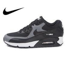 a7a1da4fe9f53 Original NIKE WMNS AIR MAX 90 Women s Running Shoes Sneakers Breathable Nike  Shoes Women Low Top Cushioning Comfortable 325213