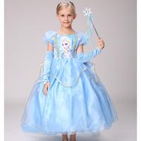 Children S Princess Dress Kids Anna Elsa Dresses Costumes Girl Dresses For Girls The Snow Queen