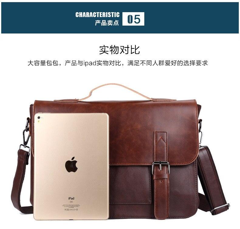 Luxo Advogado do Documento Bolsa Para Laptop Pasta do Negócio