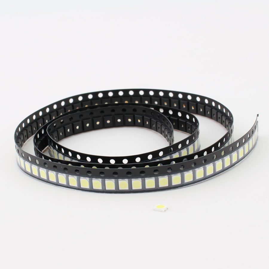 50pcs 3535 <font><b>LED</b></font> Diode TV Backlight 1W 3V 3535 <font><b>SMD</b></font> Diode <font><b>LED</b></font> television 3535 3537 Cold White diodes LCD Backlight for <font><b>LG</b></font> TV Repair image