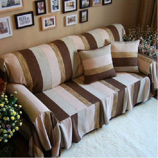 Direct Ing Sectional Sofas Covers Manta Para Sofa American Village Retro Slipcover Cover Cloth Customized