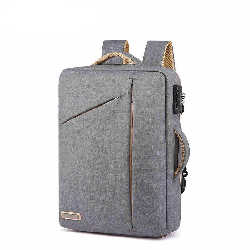 Sac à dos décontracté pour les écoliers ordinateur Portable Portable sacs à bandoulière en coton avec poignées spécial pour les garçons jeunes