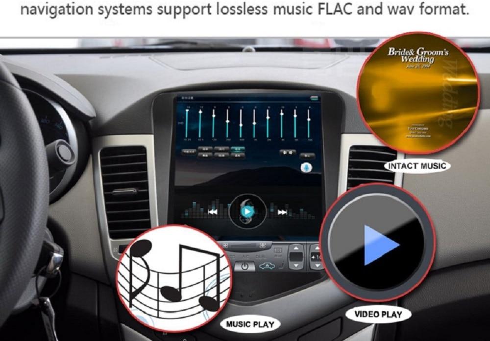 Sale Navirider Android 7.1 radio tape recorder 4-Core 2GB RAM 32GB rom tesla vertical screen for Toyota  Land cruiser 2012 head units 8