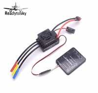NEW Waterproof 60A Brushless ESC Electric Speed Controller With 5 5V 3A BEC For 1 10