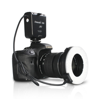 Aputure HC100 CRI 95 + LED Nhẫn Flash Light Speedlight Đối Với Canon EOS 1D 7D 6D 50D 5D Mark II III 700D 70D 60D 650D DSLR Máy Ảnh