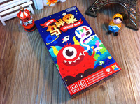 Card Game Ubongo Mini Version Color Box Children Game Very Suitable For The Family Board Games