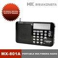 Leadstar ranura TF Multimedia Portátil de Radio FM con altavoz incorporado