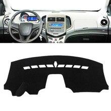 Автомобиль панель управления крышка коврик козырек от солнца инструмент Аксессуары с покрытием для Chevy Chevrolet Aveo Sonic 2012 2013 2014 2015 2016