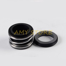Air Segel Poros Pompa Single Coil Spring Karbida Silikon Karbida NBR MG1/MB1/109-12/ 14/15/16/17/18/20/22/24/25 Mm ID(China)