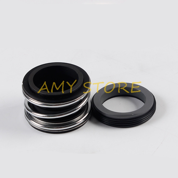 Mechanical Water Pump Shaft Seal Single <font><b>Coil</b></font> Spring Carbide Silicon Carbide NBR MG1/MB1/109-12/14/15/16/17/18/20/22/24/25mm <font><b>ID</b></font> image