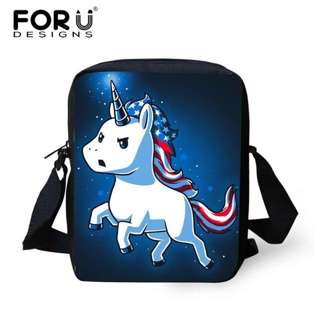 acb3bec50b46 FORUDESIGNS Unicornio Crossbody Bags for Women