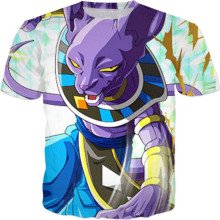 Beerus Lord Of Destruction T-Shirt Graphic
