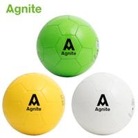 Agnite 2018 Official Soccer match ball size 5 TUP+EVA Men's elastic soccer ball Wear resistant balloons football training supply