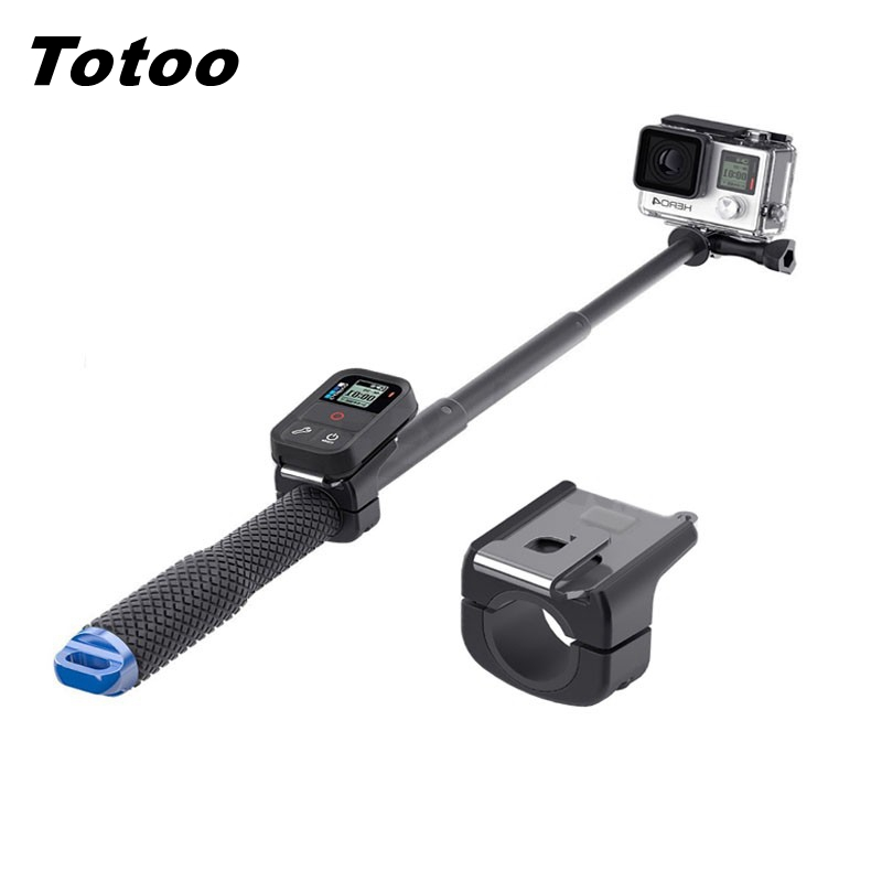 Wifi Smart Remote Control Fixing Clamp Clip Buckle For GoPro 7 Hero 7 6 5 4 3 Session Accessories Tripod Selfie Pole Mount