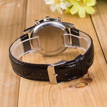 Analog Stainless Steel Business Quartz Watch 3