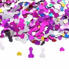 400pcs/lot Confetti Sequins Bachelorette Hen Party Decoration Bling Confettis Wedding Table Decor Hen Party Supplies hen s pens