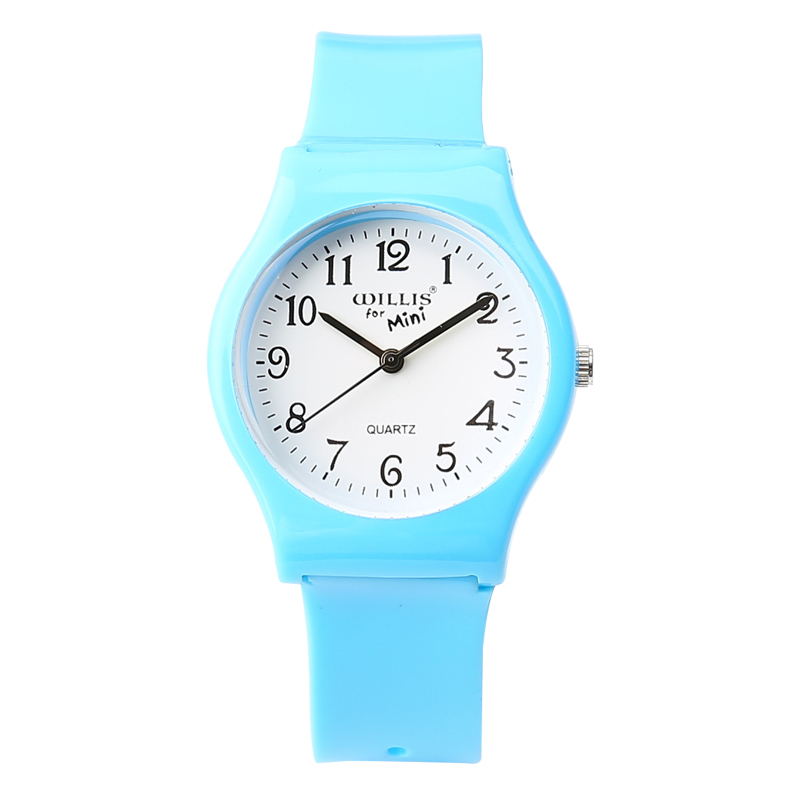New Fashion Simple Transparent Mini Quartz Watch Waterproof Silicone Watch For Water Resistant Children Analog Wristwatch