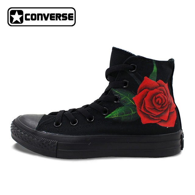 black converse shoes mens